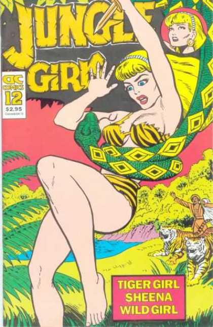 Jungle Girls 12 - Wild Girl - Knife - Tiger Girl - Python - Sheena