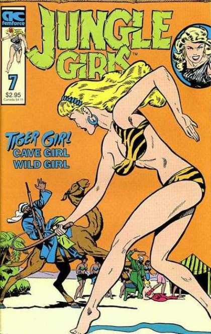 Jungle Girls 7 - Lady - Man - Fight - Earings - Matt Baker