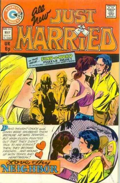 Just Married 100 - Charlton - May - Find A Word - Puzzle Page - Blonde