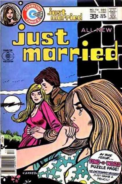 Just Married 114 - Charlton - Blonde - Full Moon - 30 Cents - Tears