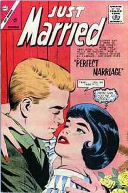Just Married 34 - Perfect Marriage - Love - Romance - Newly Weds - Embrace