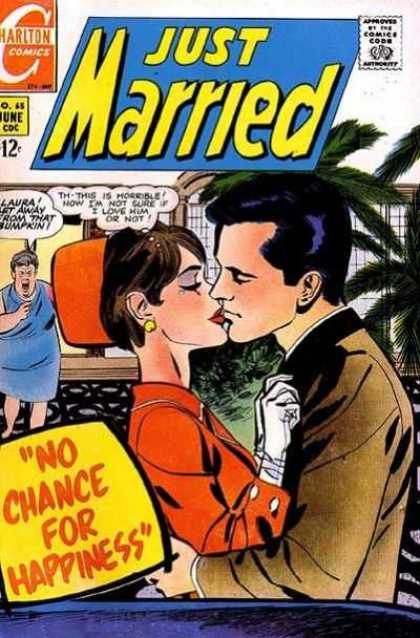 Just Married 65 - Charlton - Charlton Comics - Married - Love - Happiness