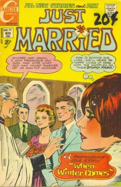 Just Married 80 - Love Story - Wedding - Marriage - Mildred - Jason