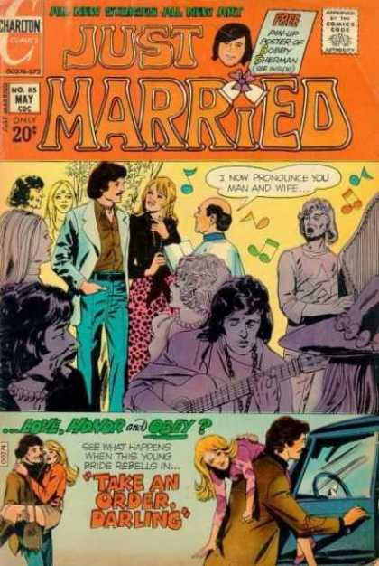 Just Married 85 - Guitar - Wedding - Preacher - Music - Take An Order Darling
