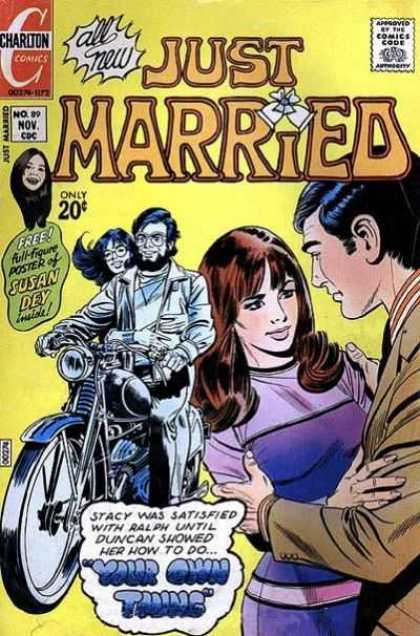 Just Married 89 - Susan Dey - Poster - Charleton Comics - Your Own Thing - 00179-1172