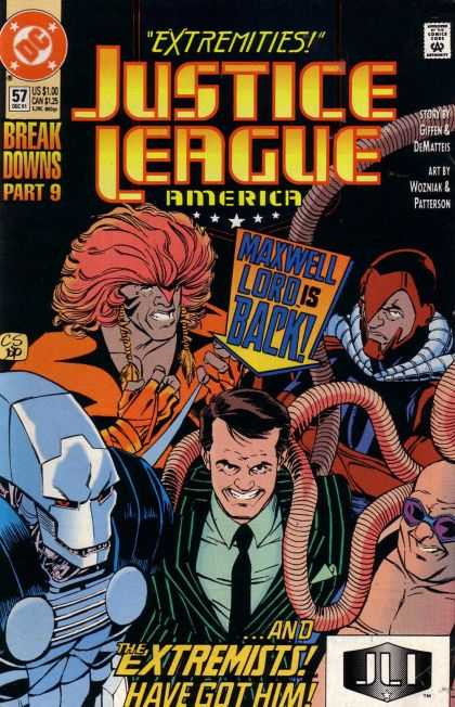 Justice League America 57 - Dc - Approved By The Comics Code Authority - Extremities - Breakdowns - Maxwell - Chris Sprouse