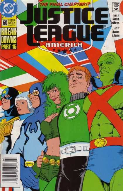 Justice League America 60 - Kevin Maguire