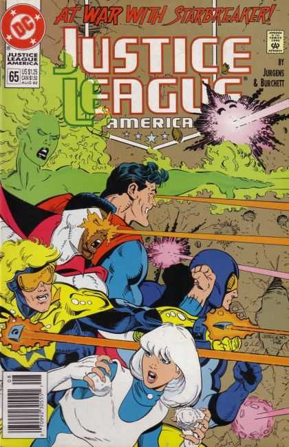 Justice League America 65 - One Super Man - Lights - One Ghost - One Girl - Eyes - Dan Jurgens
