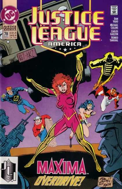 Justice League America 78 - Mike Collins