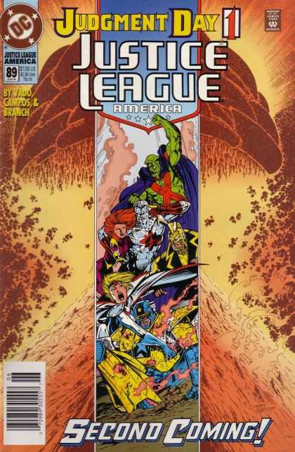 Justice League America 89 - Jury In Session - Welcome To America - Casting The First Stone - Valley Of The Shadow Of Death - Soul Searching