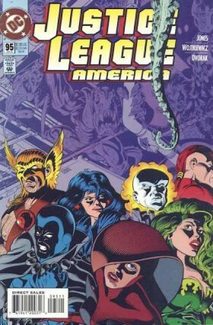 Justice League America 95 - Altering The Past - Men Of Justice - Women Of Justice - Future Lives - Changing The World