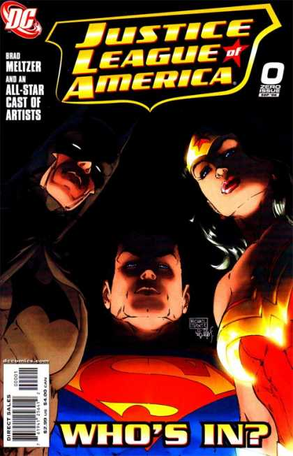 Justice League of America (2006) 0 - Michael Turner