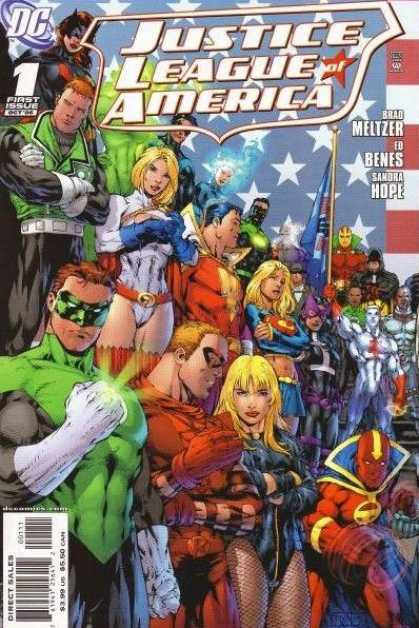 Justice League of America (2006) 1 - Alex Sinclair, Ed Benes