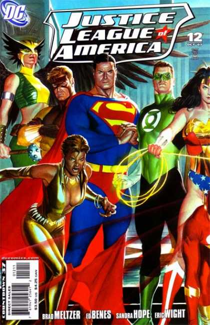 Justice League of America (2006) 12 - Alex Ross