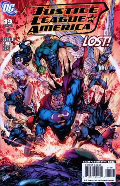 Justice League of America (2006) 19 - Alex Sinclair, Ed Benes