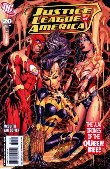 Justice League of America (2006) 20 - Alex Sinclair, Sciver Van