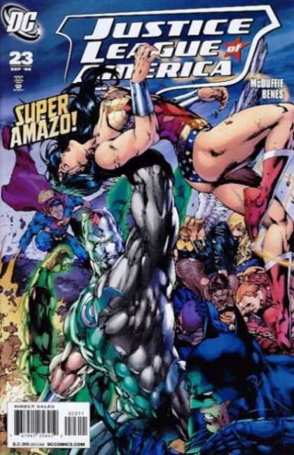 Justice League of America (2006) 23 - Alex Sinclair, Ed Benes