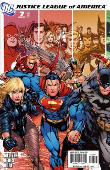 Justice League of America (2006) 7 - Ed Benes, Gene Ha