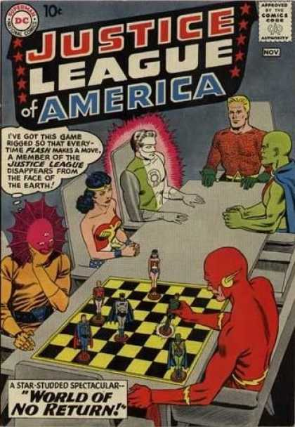 Justice League of America 1 - Murphy Anderson