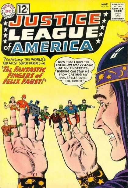 Justice League of America 10 - Murphy Anderson