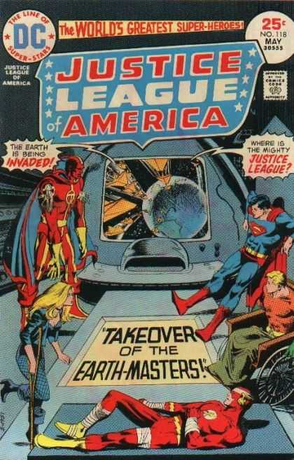 Justice League of America 118 - Earth - Invaded - Superman - Takeover Of The Earth-masters - Injured - Dick Giordano