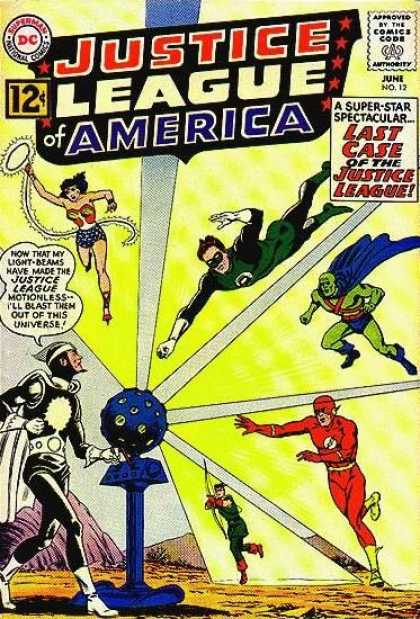 Justice League of America 12 - Murphy Anderson