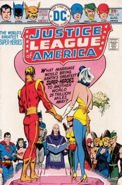 Justice League of America 121