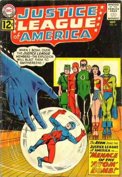 Justice League of America 14 - Murphy Anderson