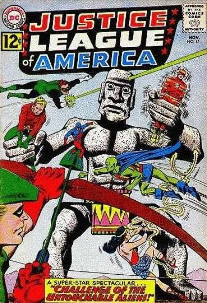 Justice League of America 15 - Murphy Anderson