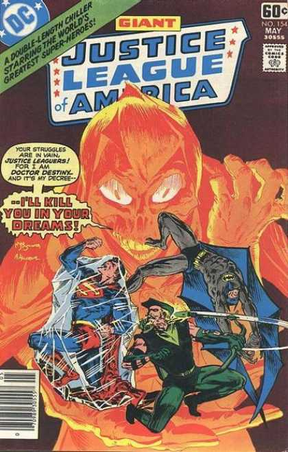 Justice League of America 154 - Giant - May - Approved By Comics Code - Superman - Batman - Michael Kaluta
