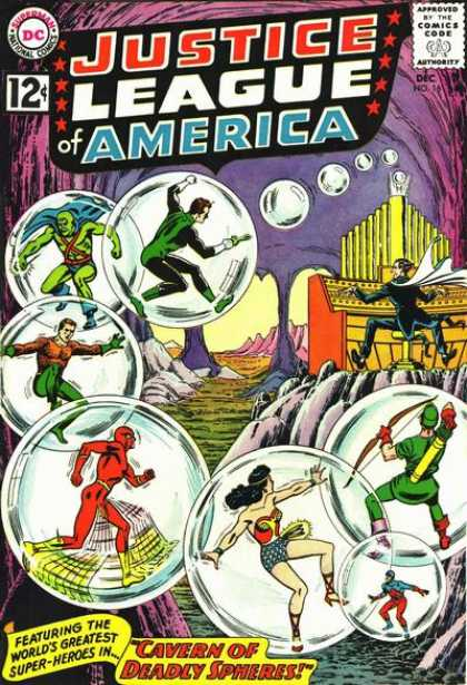 Justice League of America 16 - Murphy Anderson