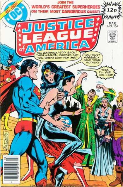 Justice League of America 164 - Dick Giordano, Richard Buckler