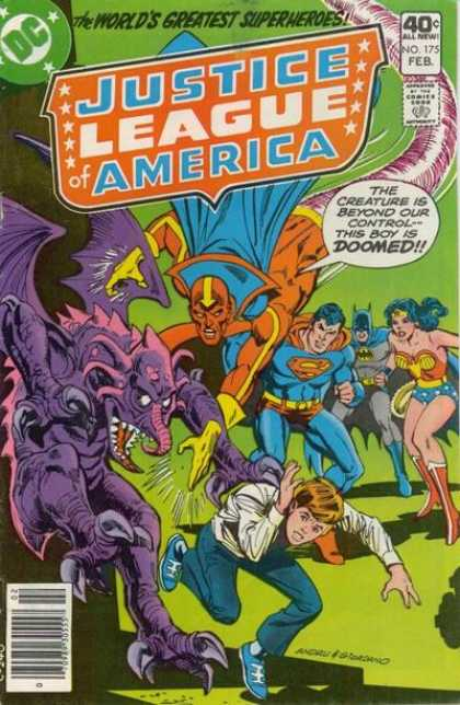 Justice League of America 175 - Dick Giordano, Ross Andru