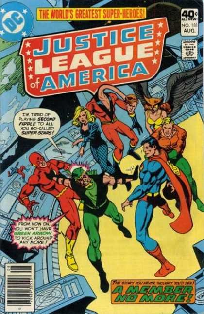 Justice League of America 181 - Ross Andru