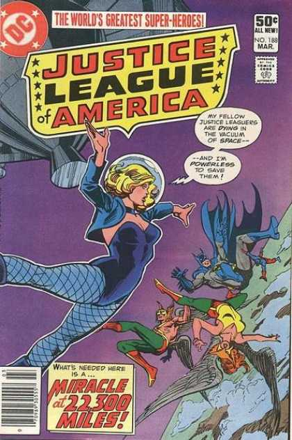 Justice League of America 188 - Dick Giordano, Ross Andru