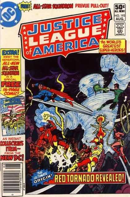 Justice League of America 193 - Dick Giordano, Richard Buckler