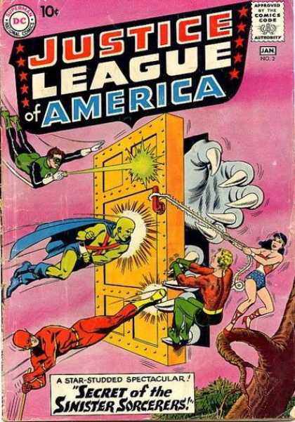 Justice League of America 2 - Secret Of The Sinister Sorcerers - Green Lantern - Flash - Wonder Woman - Aquaman - Murphy Anderson