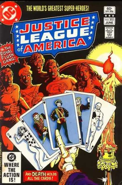 Justice League of America 203 - Dick Giordano, George Perez