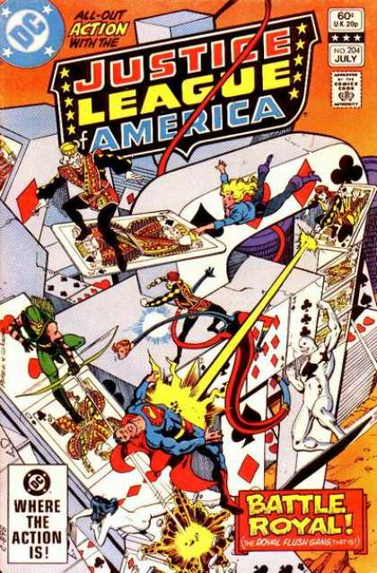 Justice League of America 204 - Dick Giordano, George Perez