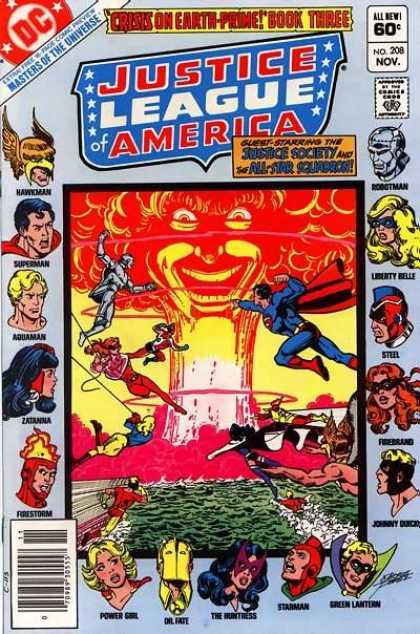 Justice League of America 208 - George Perez, Ross Andru