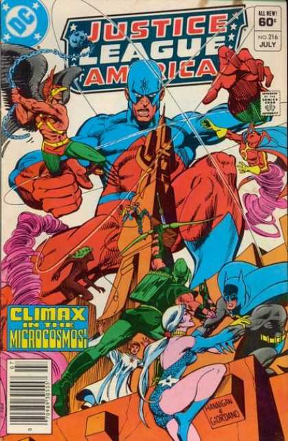 Justice League of America 216 - Dick Giordano