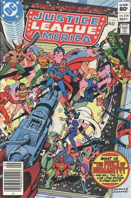 Justice League of America 218 - Dick Giordano
