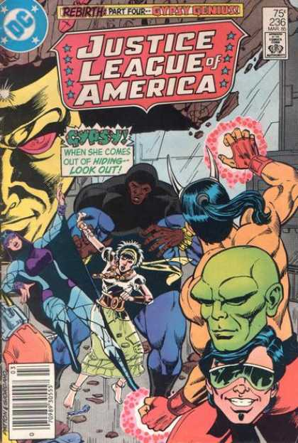 Justice League of America 236 - Dc - Gypsy - Gorilla - Part Four - Horns - Dick Giordano