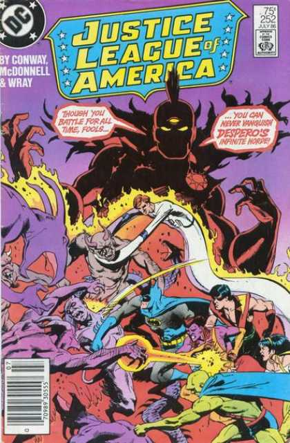 Justice League of America 252