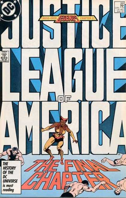 Justice League of America 261