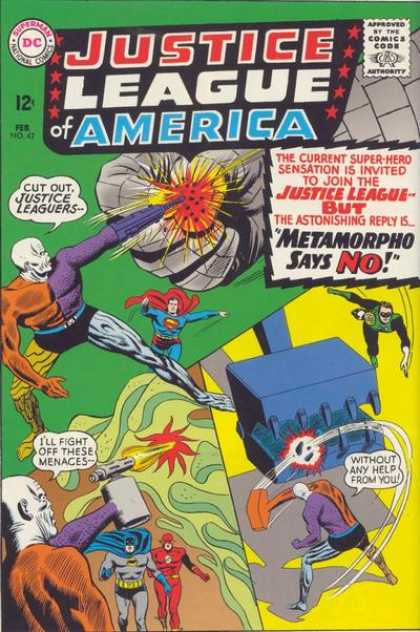 Justice League of America 42 - Murphy Anderson