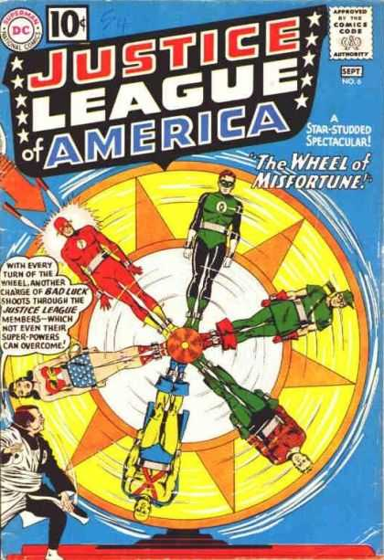 Justice League of America 6 - Murphy Anderson