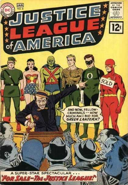 Justice League of America 8 - Murphy Anderson