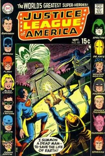 Justice League of America 83 - Murphy Anderson