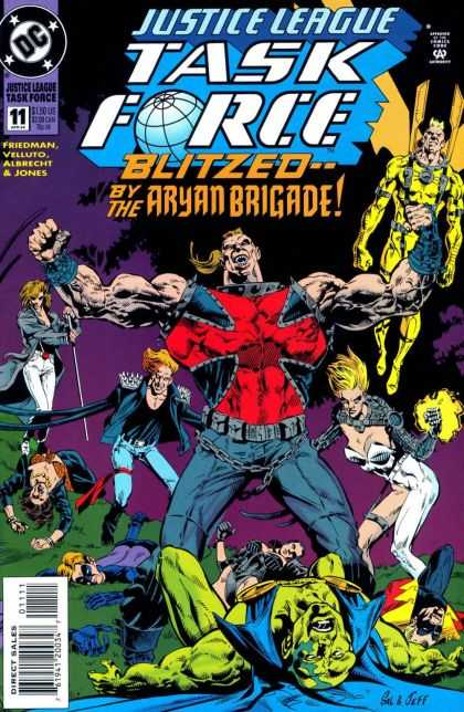 Justice League Taskforce 11 - Dc Comics - Justice - Blitzed - Gang - Aryan Brigade